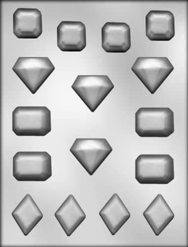 "CK Products 1-1/2"" Jewel Choc Mold"