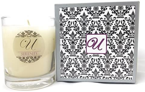 Unrivaled Candles Serenity (14 oz Glass Container) Select-a-Size (Ring Size 6); Jewelry Inside Valued at $10 to $10,000.