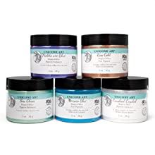 mica powder, resin epoxy, resin colorant